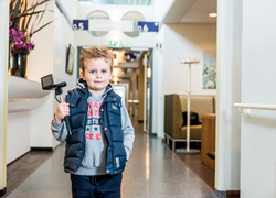 Kids met camera's: Jurrien