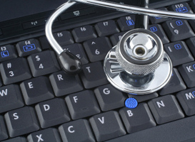 Normal_ehealth__stethoscoop__computer__laptop