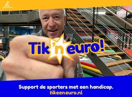 Digitale collecte voor Fonds Gehandicaptensport